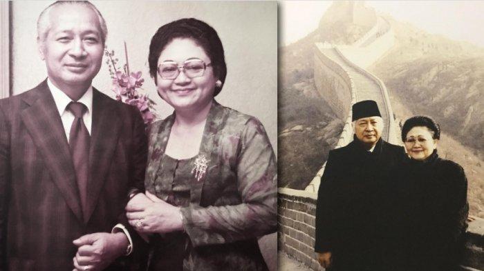 Kisah Cinta Soeharto