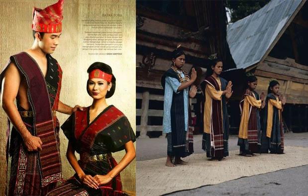 Pakaian Adat Suku Batak Toba