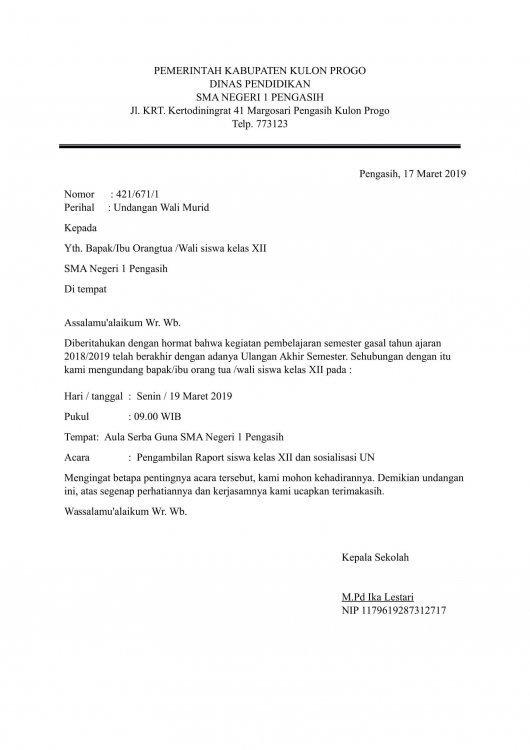 Contoh Surat Dinas Pengajuan Permohonan Bantuan