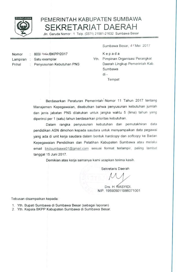 Contoh Surat Resmi Permintaan Data Dari Perusahaan